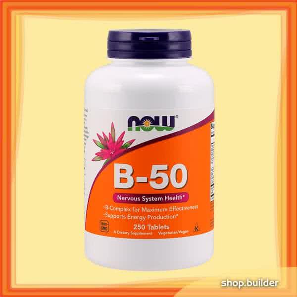 Now Foods B-50 250 tab.