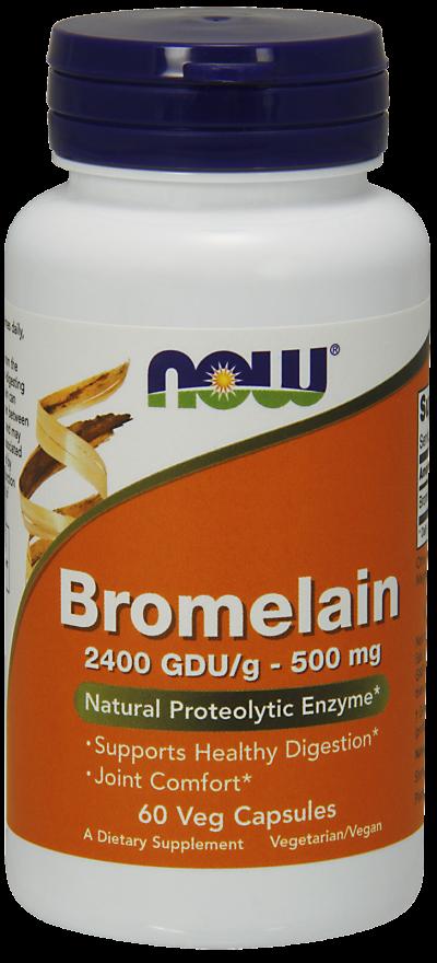 Now Foods Bromelain  60 caps.
