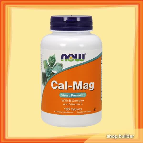 Now Foods Cal-Mag Stress Formula 100 tab.