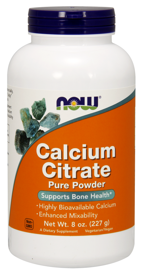 Now Foods Calcium Citrate Pure Powder 227 gr.