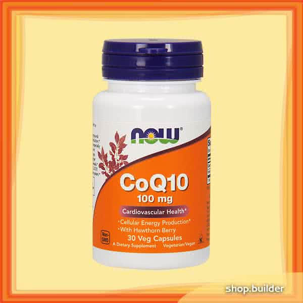 Now Foods CoQ10 (100 mg) 30 caps.
