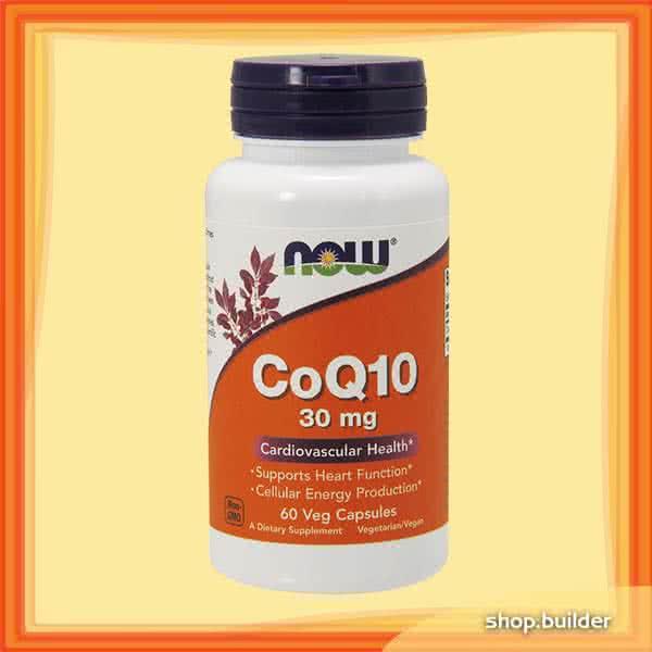 Now Foods CoQ10 (30 mg) 60 caps.