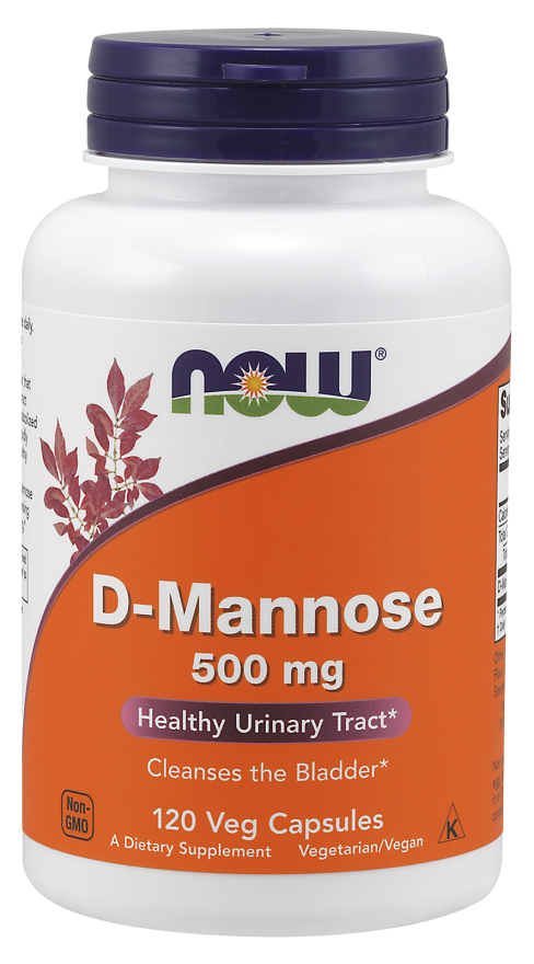 Now Foods D-Mannose 120 caps.