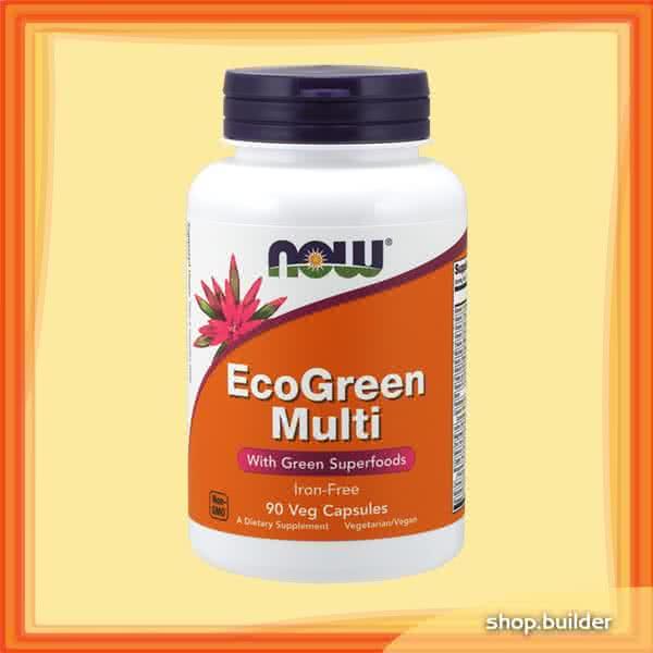 Now Foods EcoGreen Multi 90 caps.