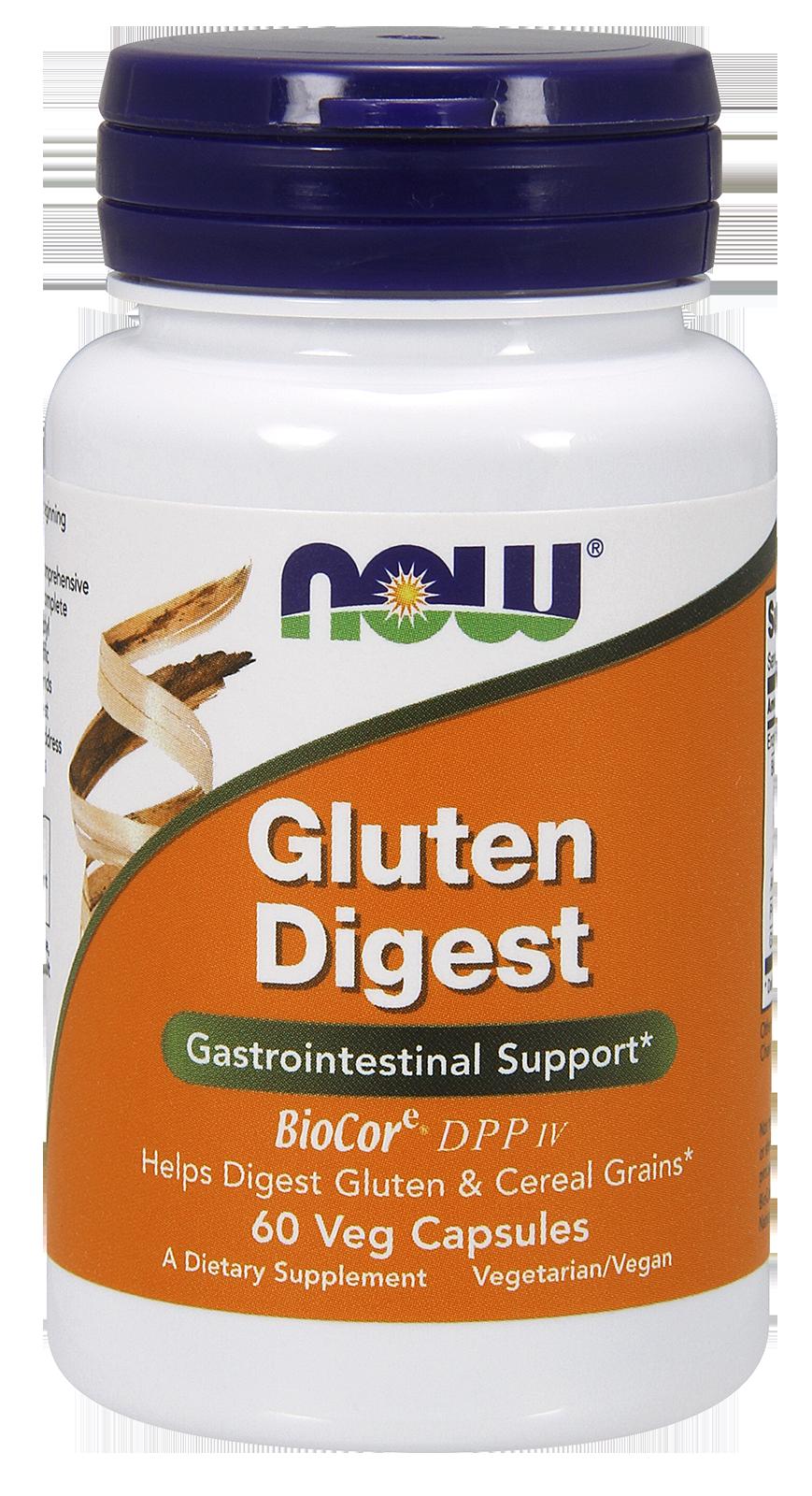 Now Foods Gluten Digest 60 caps.