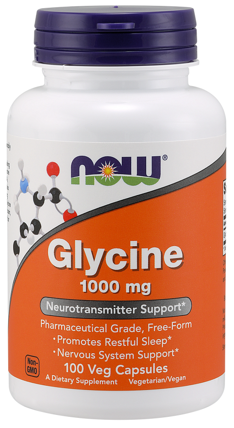 Now Foods Glycine 100 caps.