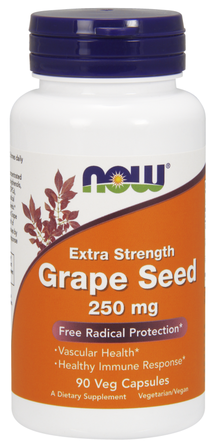 Now Foods Grape seed 90 caps.