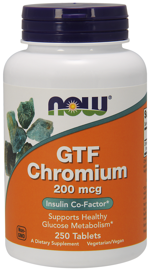 Now Foods GTF Chromium 250 tab.