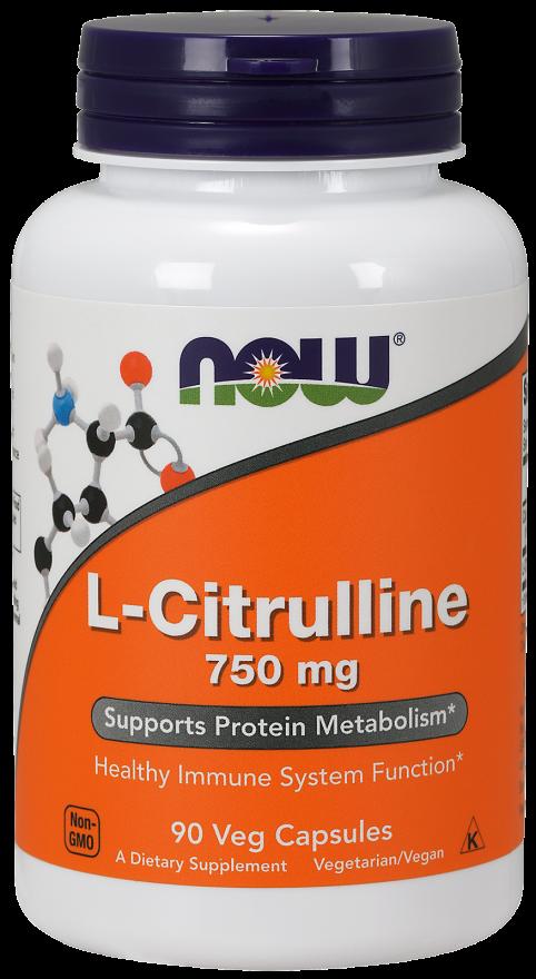 Now Foods L-Citrulline 90 caps.