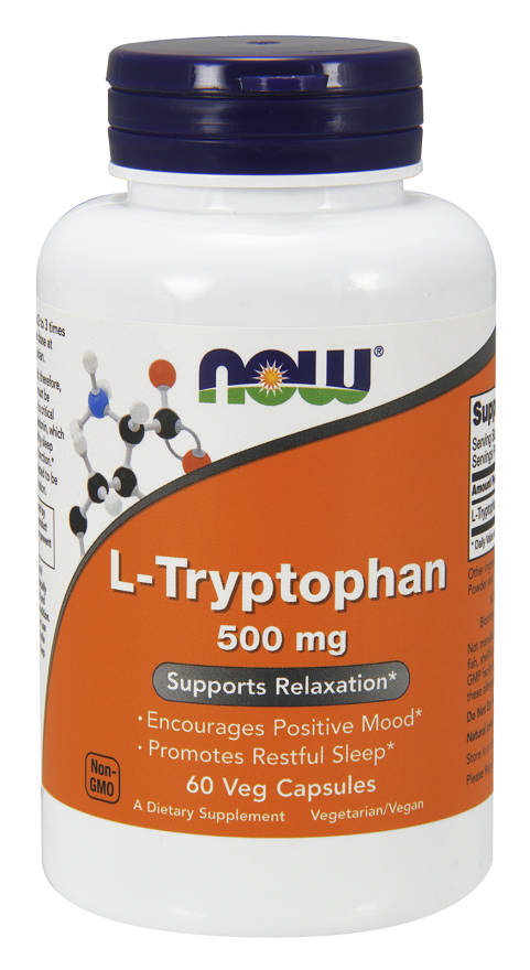Now Foods L-Tryptophan 60 caps.