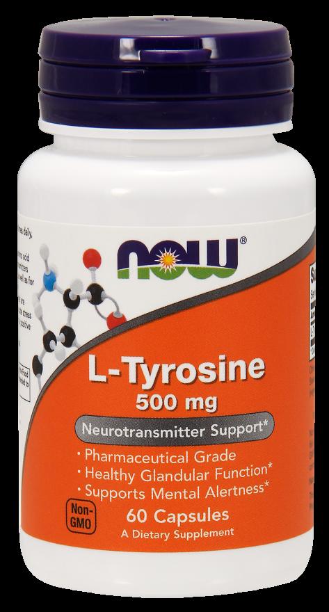 Now Foods L-Tyrosine 60 caps.