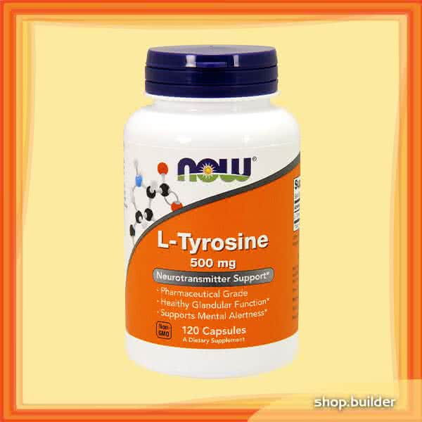 Now Foods L-Tyrosine 120 caps.