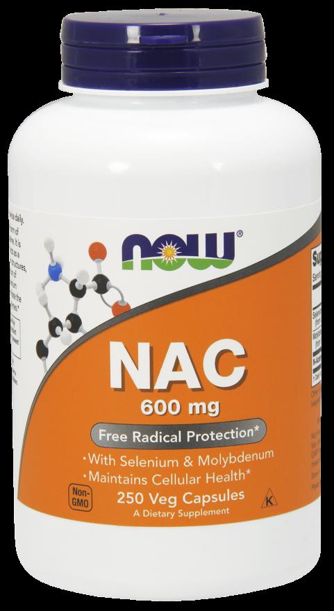 Now Foods NAC 250 caps.