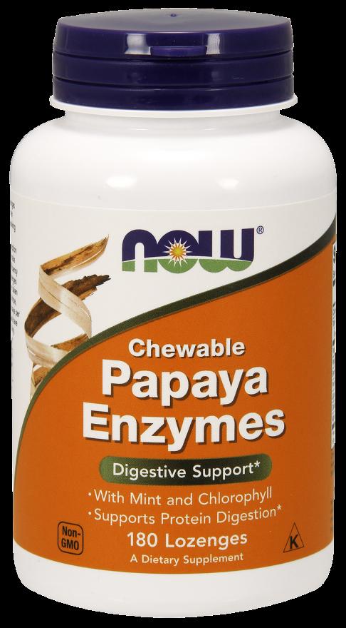 Now Foods Papaya Enzyme  180 tab.