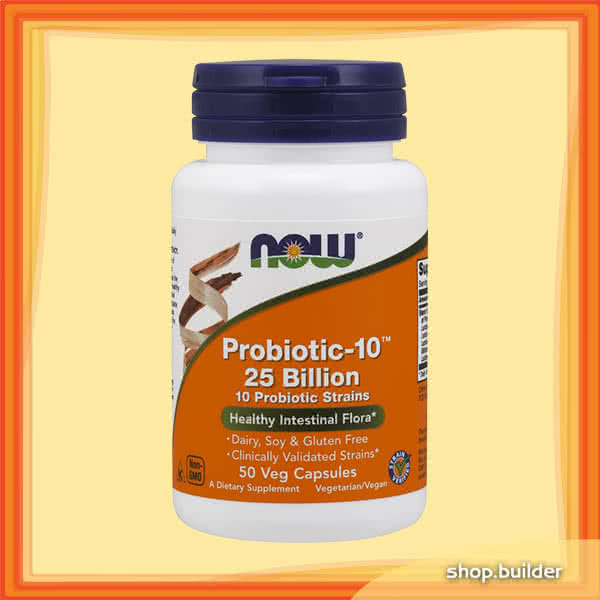 Now Foods Probiotic-10 25 Billion 50 caps.