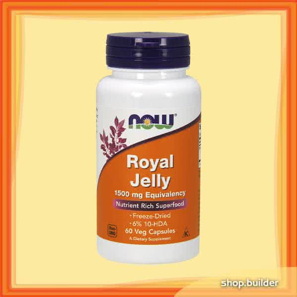 Now Foods Royal Jelly 60 caps.