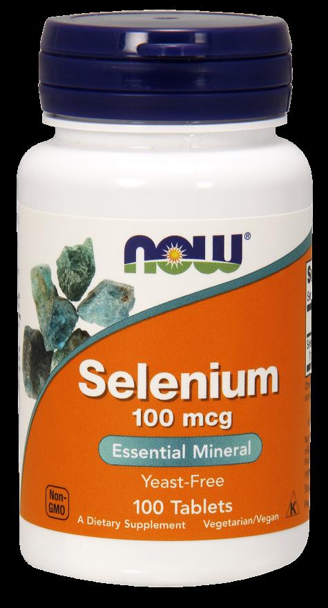 Now Foods Selenium (100mcg) 100 tab.