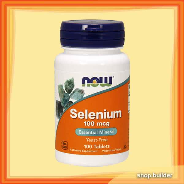 Now Foods Selenium (200mcg) 90 caps.