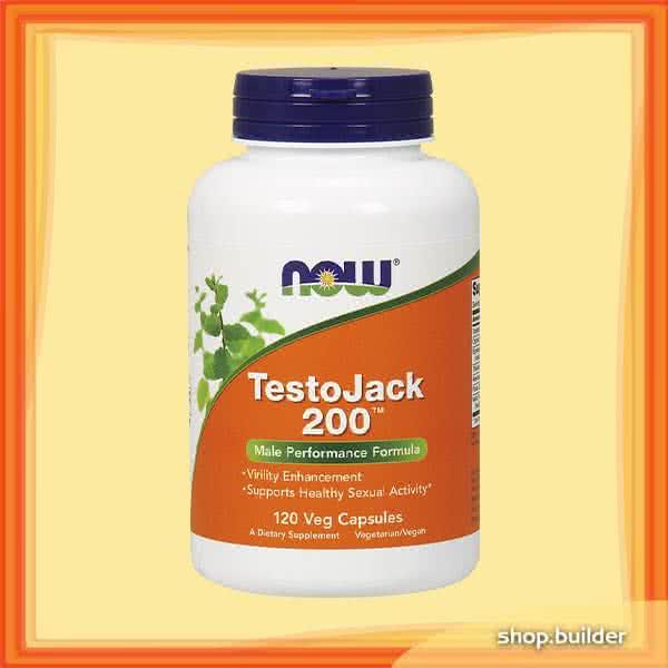 Now Foods TestoJack 200 120 caps.