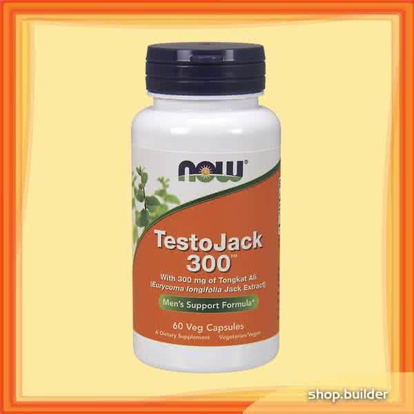 Now Foods TestoJack 300 60 caps.