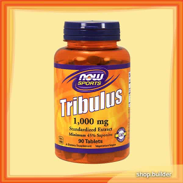 Now Foods Tribulus 1000mg 90 tab.