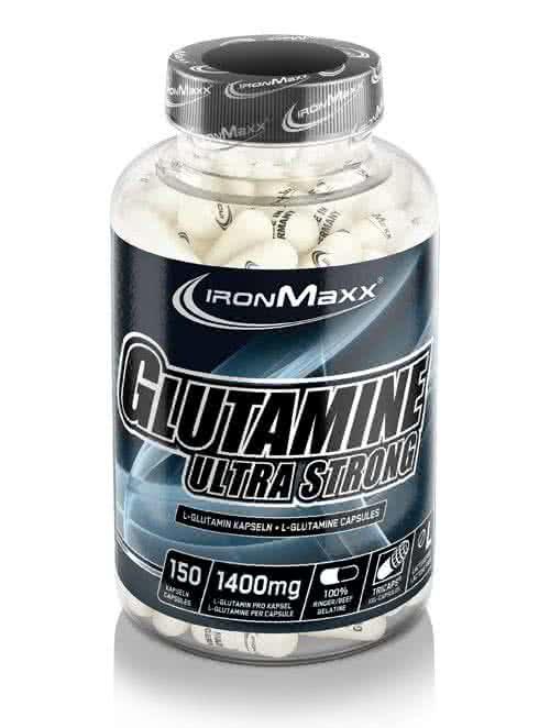 IronMaxx Glutamine Ultra Strong 150 caps.