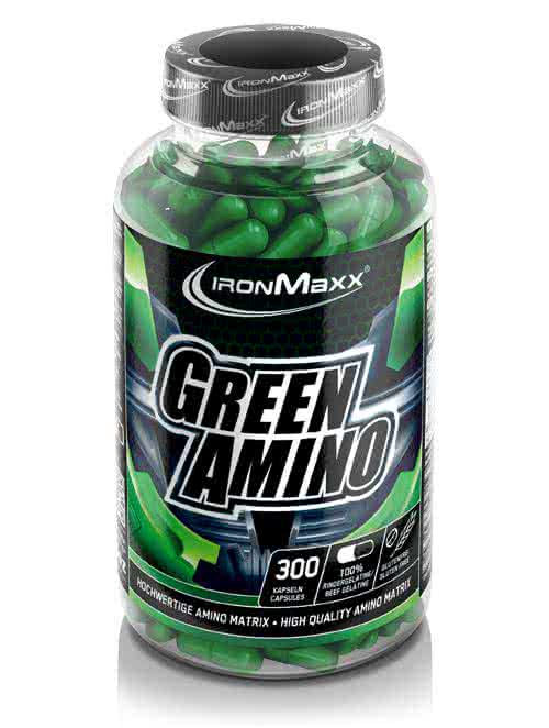 IronMaxx Green Amino 300 caps.