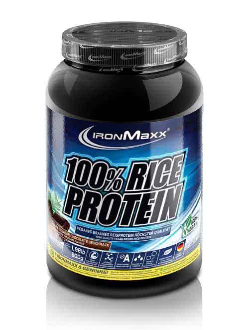 IronMaxx 100% Rice Protein 0,9 kg