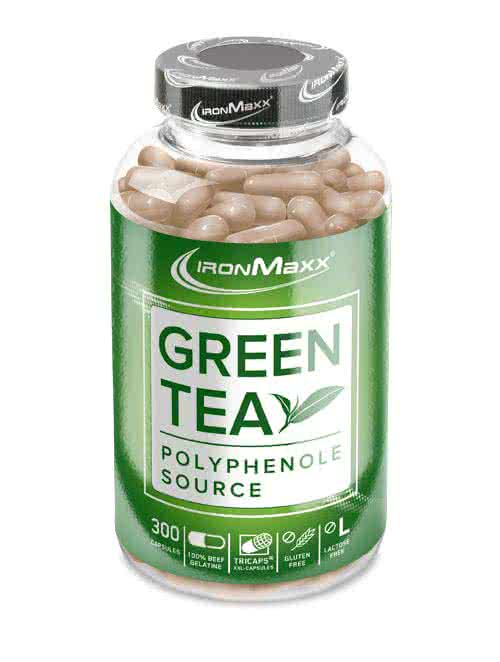 IronMaxx Green Tea 300 caps.