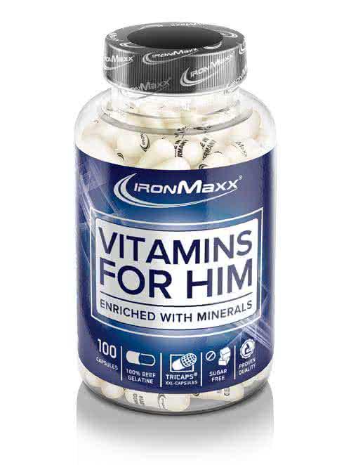IronMaxx Vitamins for Him 100 caps.