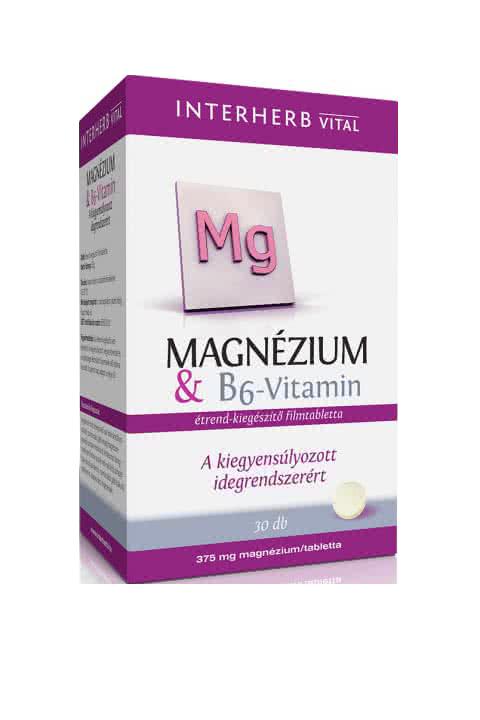 Interherb Magnesium + Vitamin B6 30 tab.