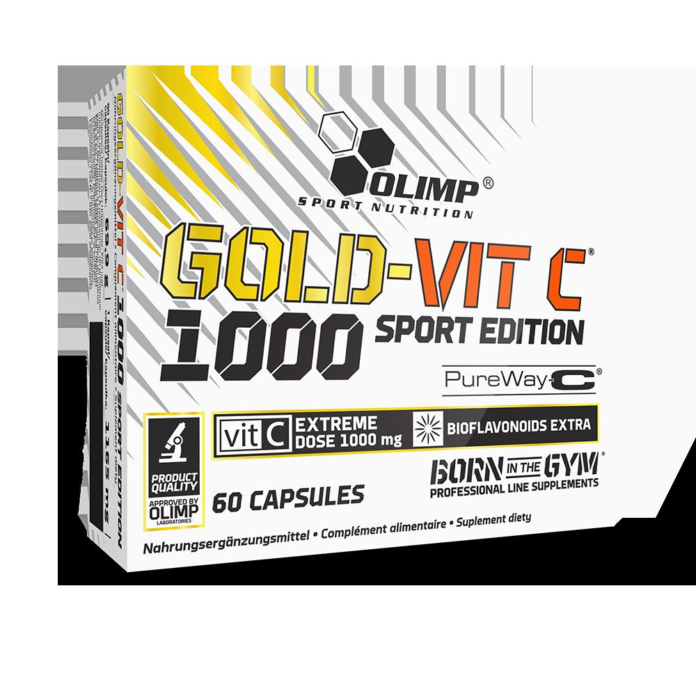 Olimp Sport Nutrition Gold-Vit C 1000 Sport Edition 60 caps.