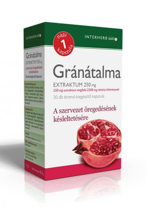 Interherb Pomegranate extract 30 caps.