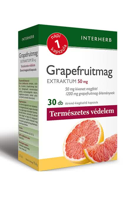 Interherb Grapefruit seed extract 30 caps.