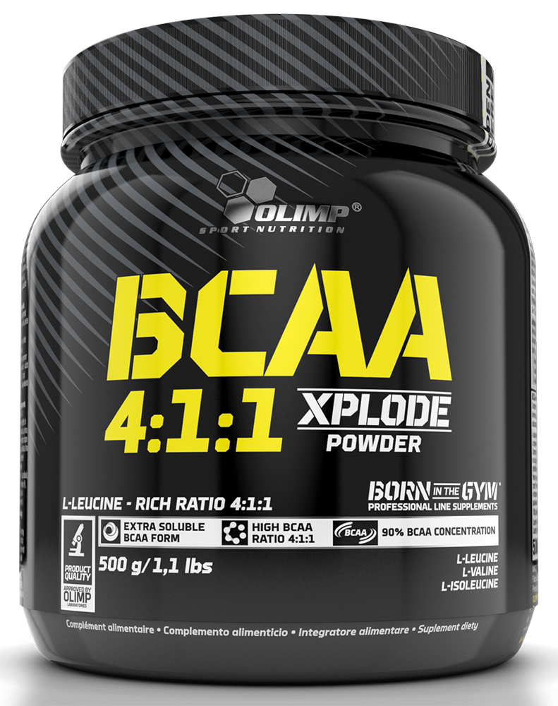 Olimp Sport Nutrition BCAA 4:1:1 Xplode Powder 500 gr.