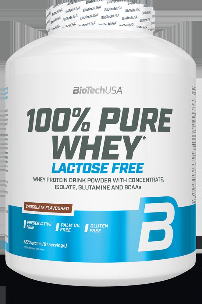 BioTech USA 100% Pure Whey Lactose Free 2,27 kg
