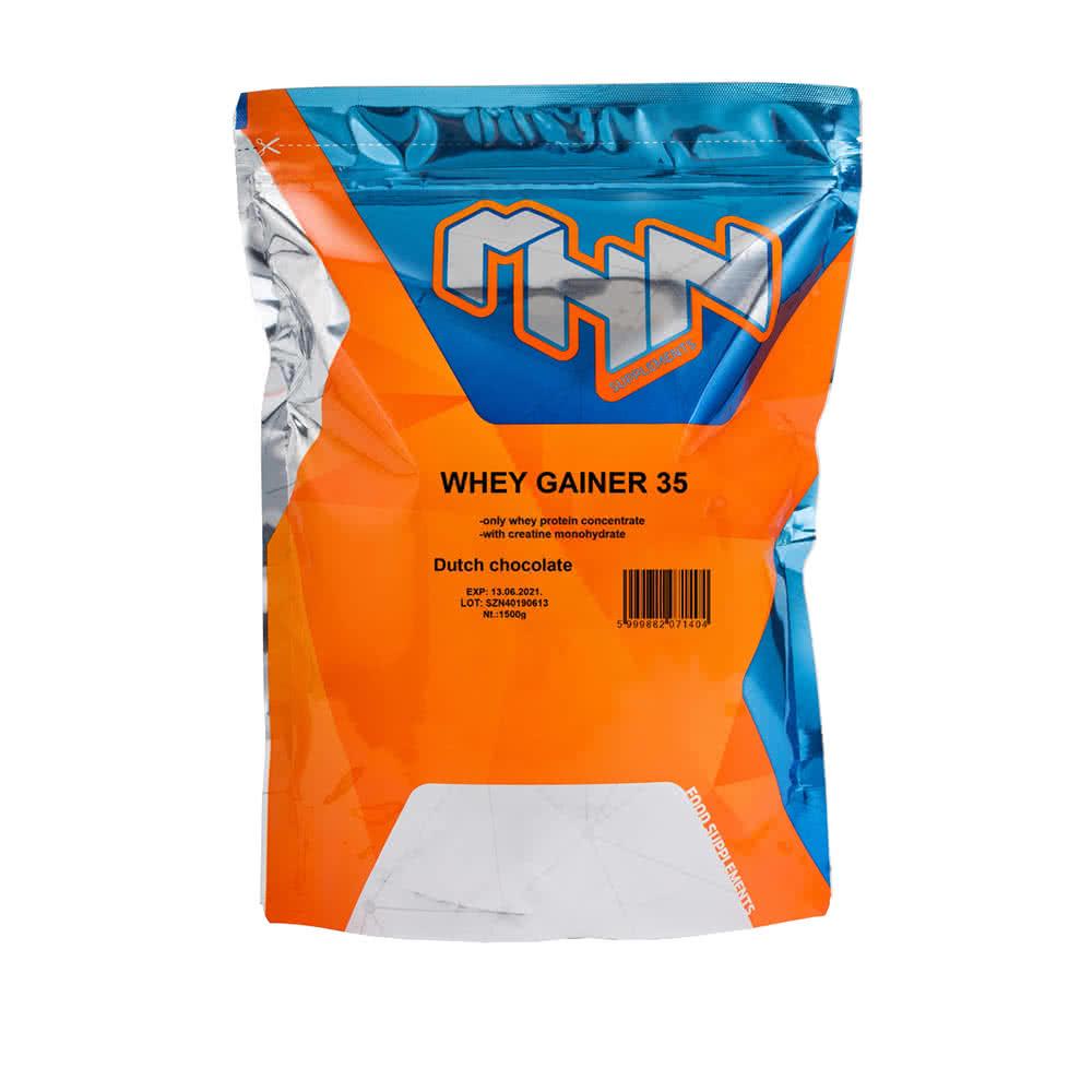 MHN Whey Gainer 35 1,5 kg