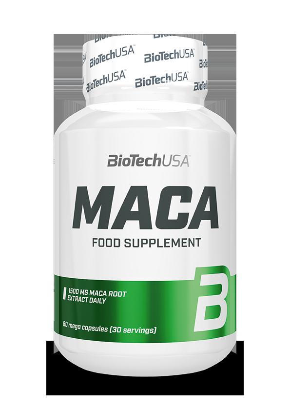 BioTech USA MACA 60 caps.