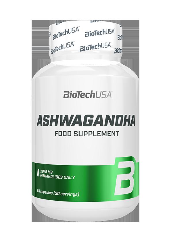BioTech USA Ashwagandha 60 caps.