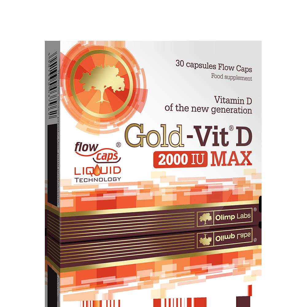 Olimp Sport Nutrition Gold Vit D 2000 IU Max  30 caps.
