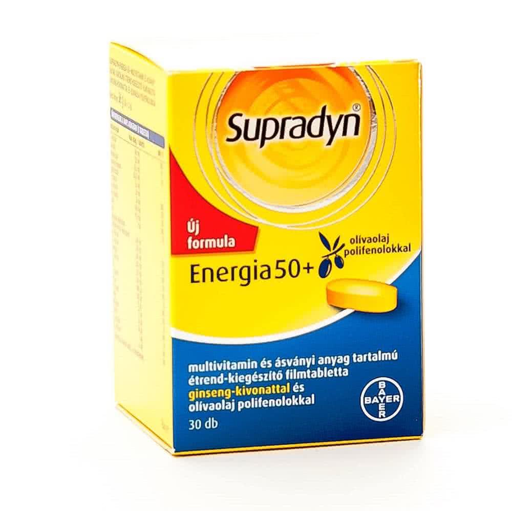 Supradyn Energy 50+ 30 tab.