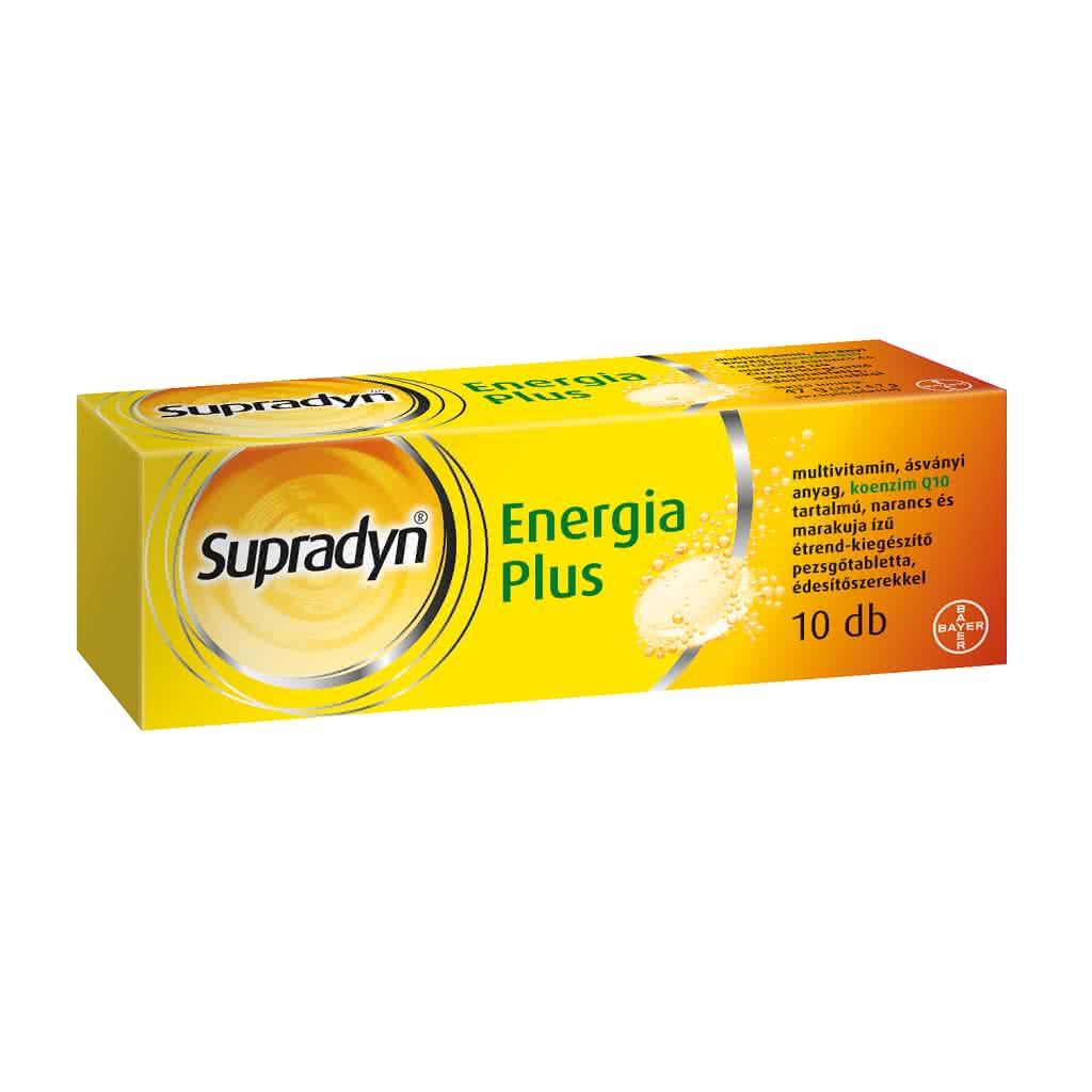 Supradyn Energy Plus 10 tab.