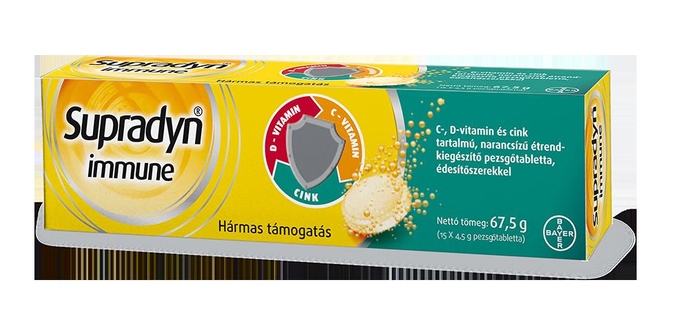 Supradyn Immune Effervescent Tabs 15 tab.