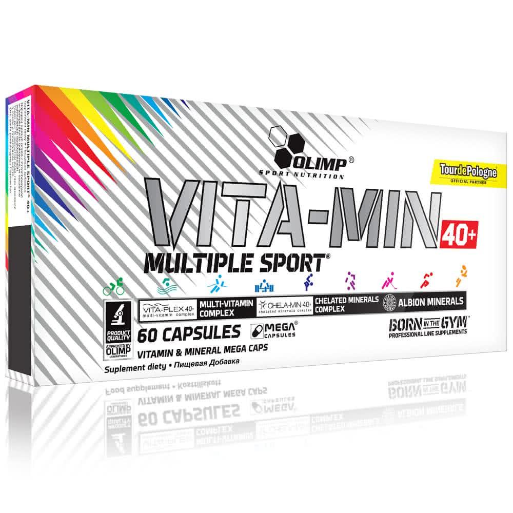 Olimp Sport Nutrition Vita-Min Multiple Sport™ 40+ 60 caps.