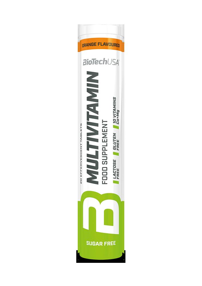 BioTech USA Multivitamin effervescent  20 tab.