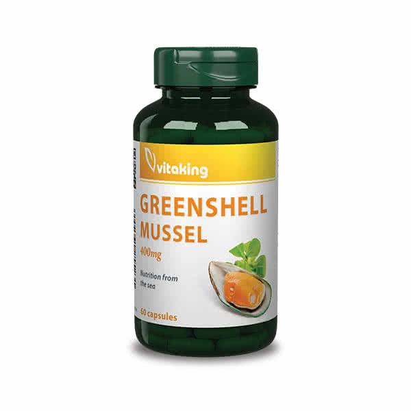 VitaKing Greenshell Mussel 60 caps.