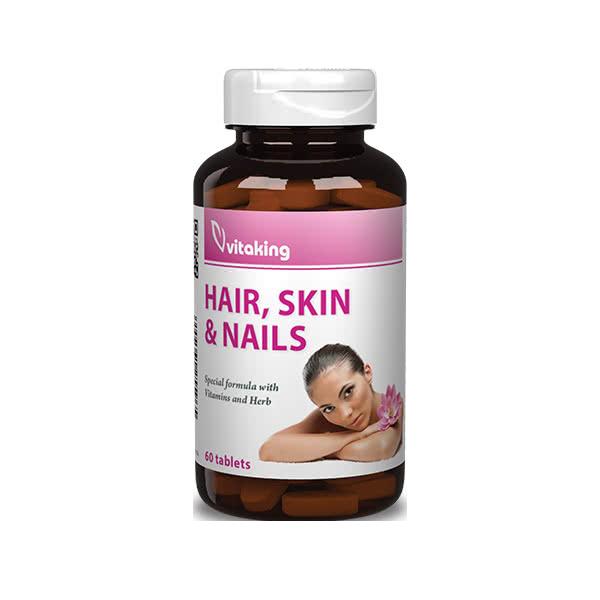 VitaKing Hair, Skin & Nails 60 tab.