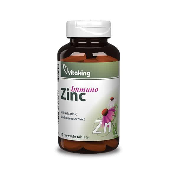 VitaKing Immuno Zinc 60 tab.