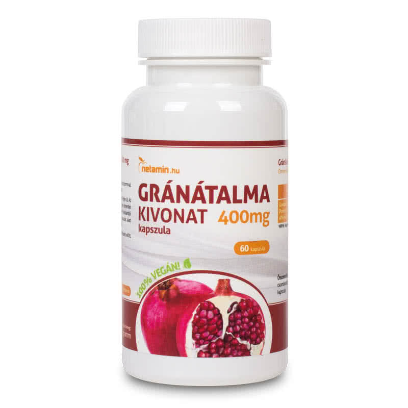 Netamin Pomegranate extract 60 caps.