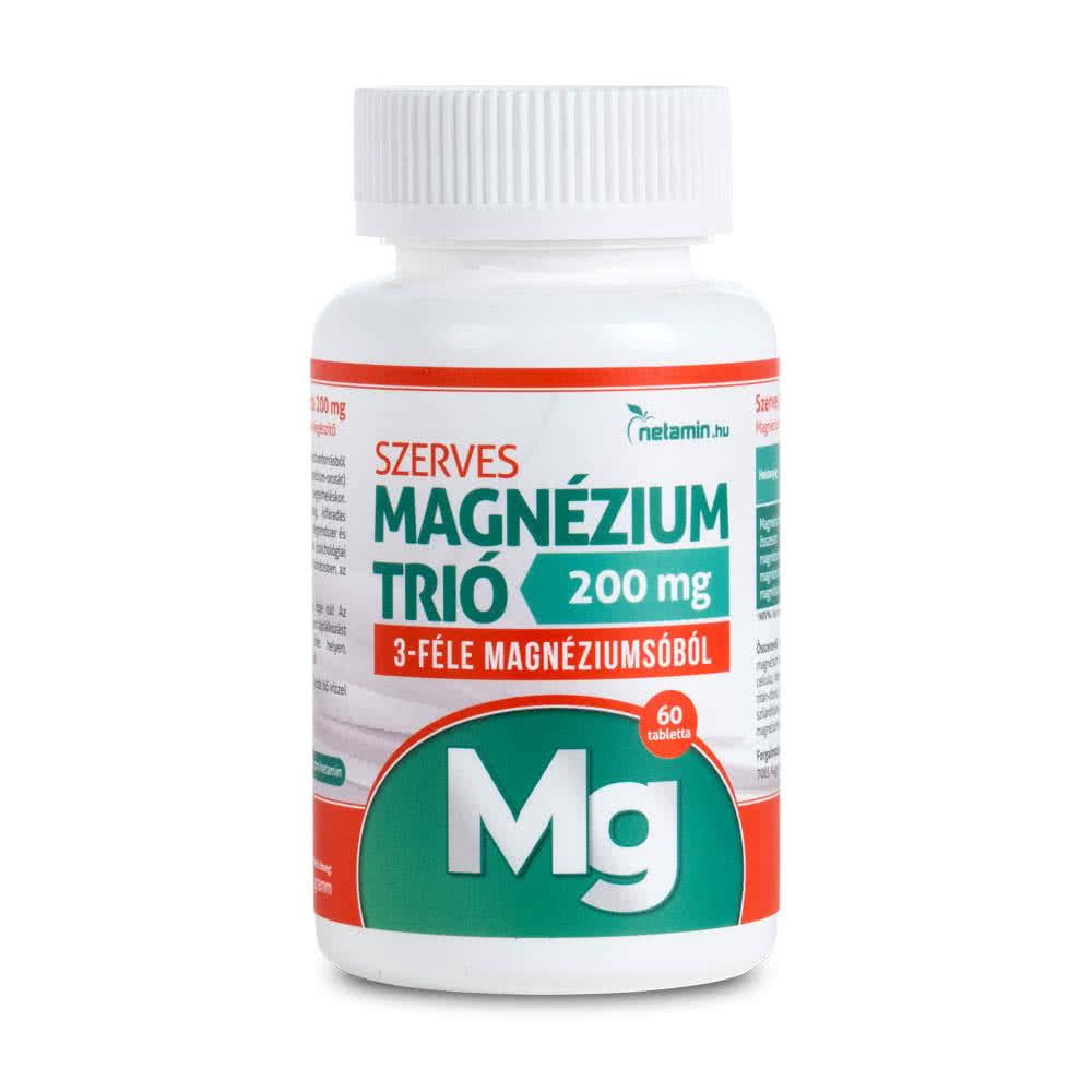 Netamin Organic Magnesium Trio 60 tab.